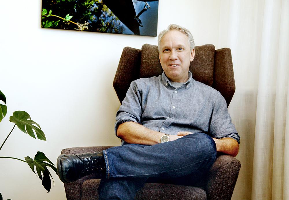 Magnus Thern, specialistpsykolog med funktionsansvar hos Landstinget Blekinge. Foto: JörgenRagnarson