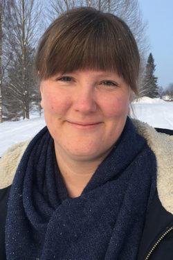 Annalena Pejok, psykolog i primärvården på Byske hälsocentral.