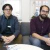 Bob Persson och Josef Neib, psykologer hos Region Gävleborg. Foto: Pernilla Wahlman