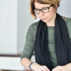 Linda Gjertsson, specialistpsykolog inom neuropsykologi. Foto: Kalle Prorok
