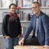 Hanna Wallensteen, skolpsykolog på Vällingbyskolan och Roger Sitbon, skolpsykolog på Alviksskolan. Foto: Gonzalo Irigoyen