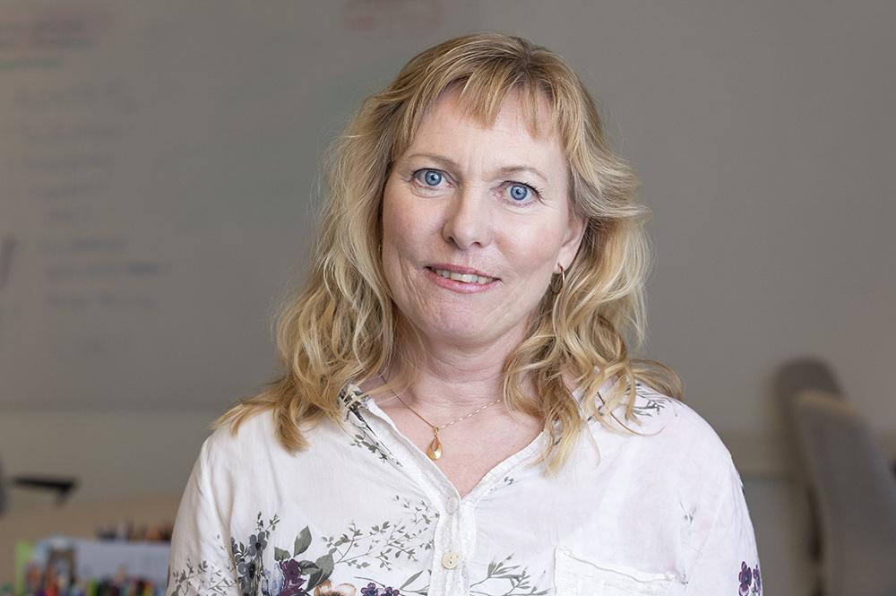 Ulrica Bonde, leg. psykolog, leg. psykoterapeut, DBT-teamet i Kungälv. Foto: Markus Holm / Amplifyphoto