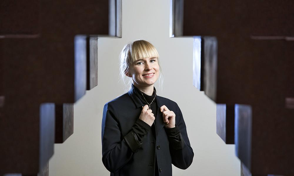 Ida Mälarstig, psykolog på Capio Centrum för Stress och Trauma. Foto: Johan Marklund