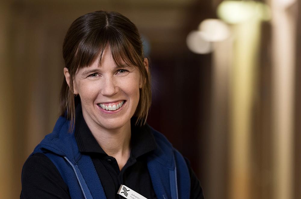 Johanna Roth, psykolog på Edsbyns hälsocentral. Foto: Johan Löf / johanlof photography