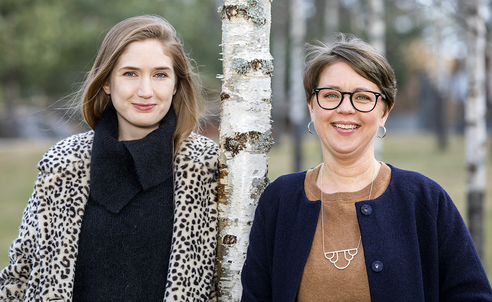 Jenny Westerlund och Malin Pauli, psykologer på RMV. Foto: Gonzalo Irigoyen