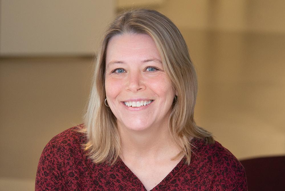 Petra Tånnander, psykolog på Kullbergska sjukhusets psykiatriska mottagning. Foto: Andreas Sander