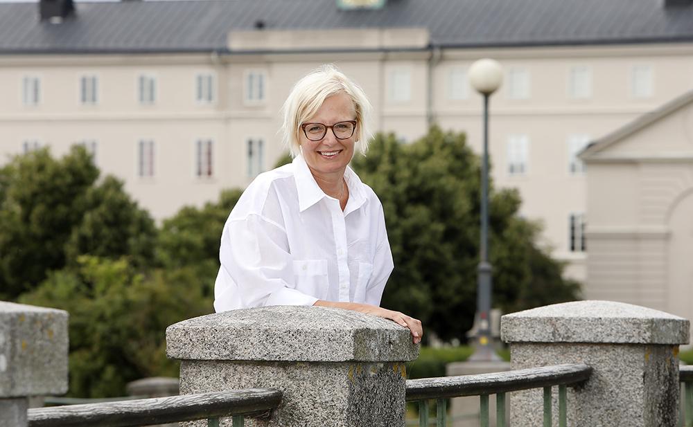 Helen Persson, HR-direktör i Region Kalmar. Foto: Curt-Robert Lindqvist