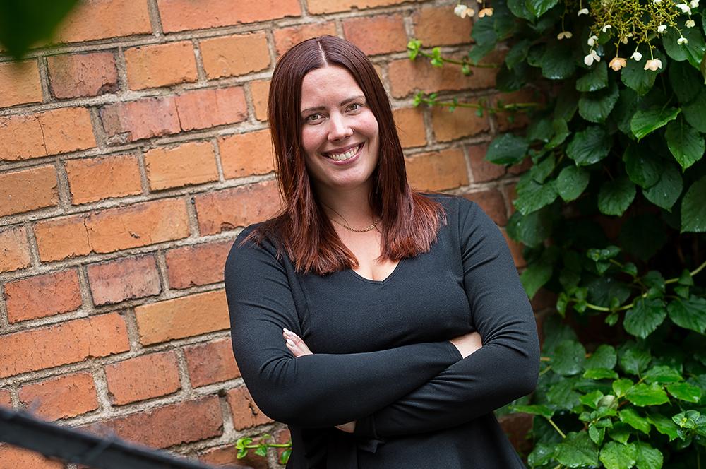 Louise Östlund, psykolog i Previas Nationella team för Organisation och Ledarskap. Foto: Dan Pettersson / DP-Bild