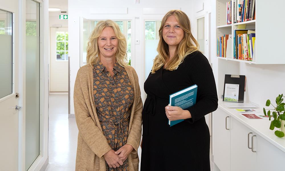 Carina Dia-Tsi-Tay och Elin Nordstrand, psykologer inom Region Sörmland. Foto: Per Sandberg