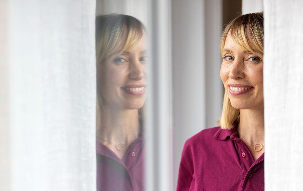 Lisa Westring, klinisk psykolog på en vårdcentral i Region Uppsala. Foto: Anders Forngren