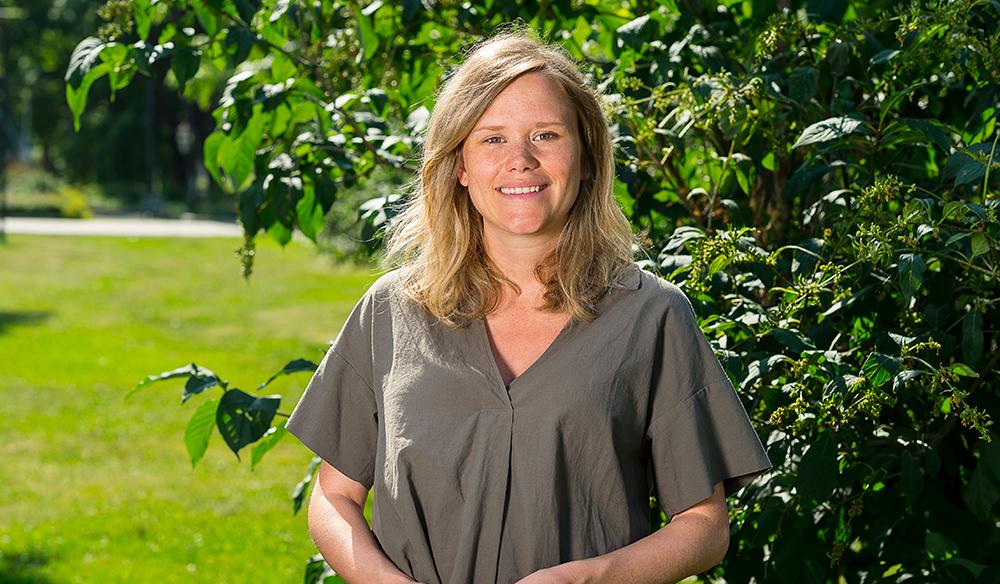 Anna Franck, legitimerad psykolog, har arbetat på WeMind sedan 2017. Foto: Dan Pettersson / DP-Bild
